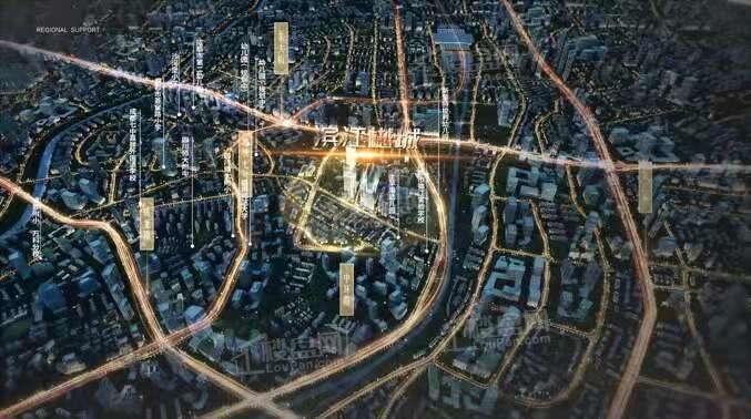 滨江樾城(公寓)位置图