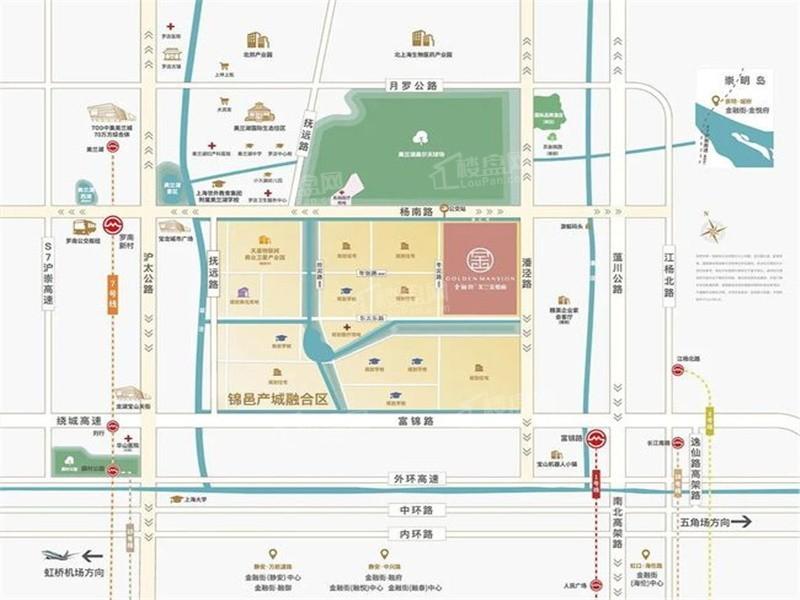 金融街美兰金悦府位置图