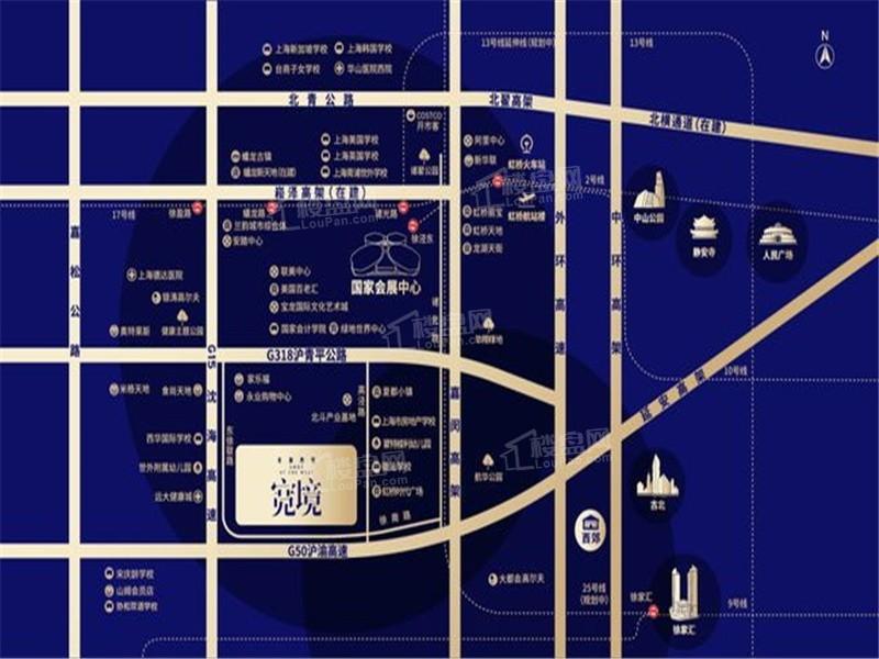 安澜西郊宽境位置图