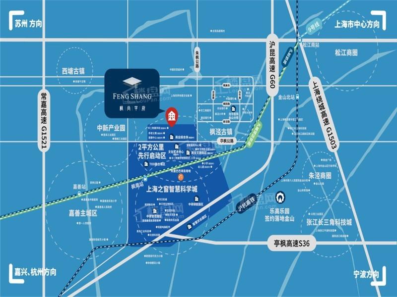 枫尚学府位置图