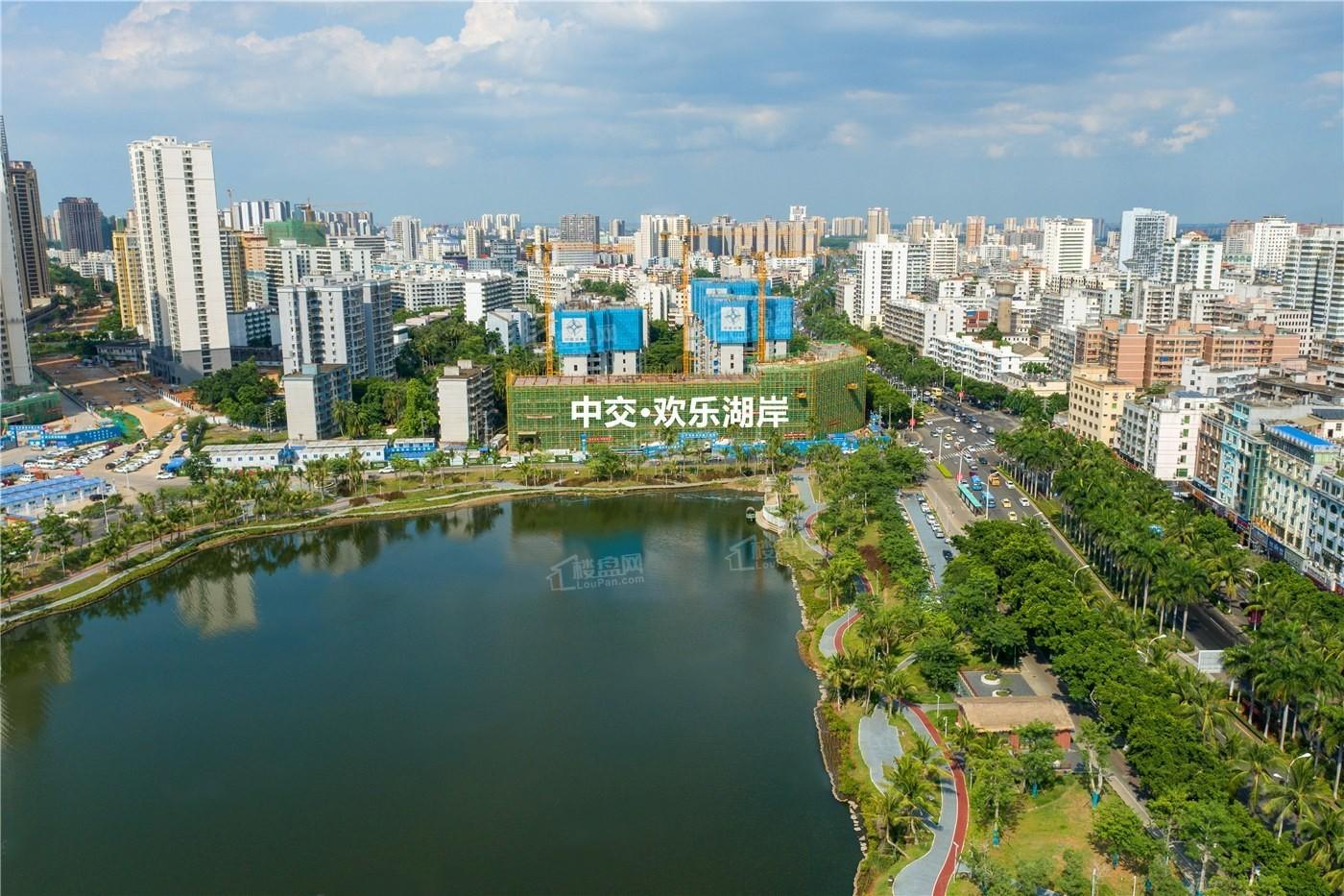 中交欢乐湖岸实景图
