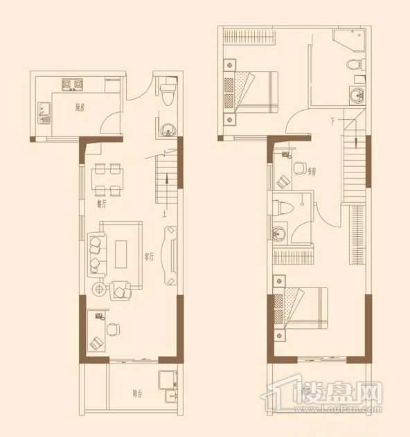 泰禾红树林户型图