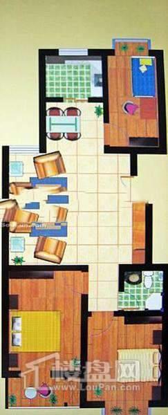 西岸3室2厅1厨1卫