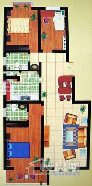 西岸3室2厅1厨2卫