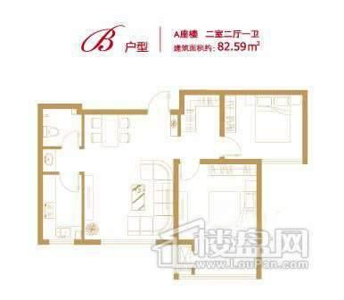 香悦澜溪A-B2室2厅1卫