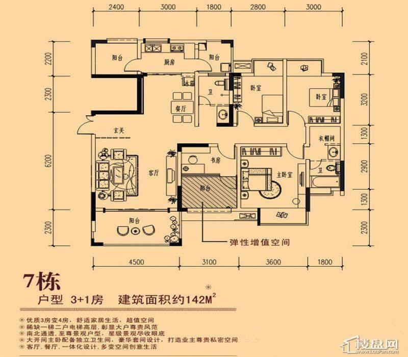 凤岭新新家园户型图