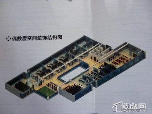 天健·商务大厦户型图