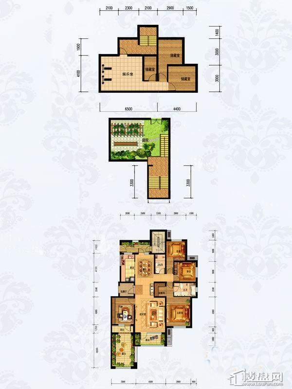 2#楼1-201 5室2厅2卫1厨-168.00㎡