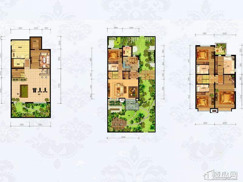 4#6#楼1-101 5室3厅4卫1厨-206.00㎡
