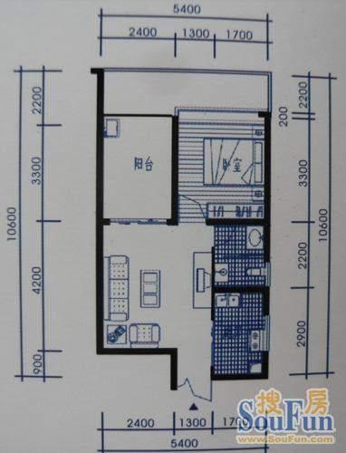 梓州国际公寓B1