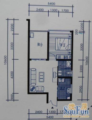 梓州国际公寓B