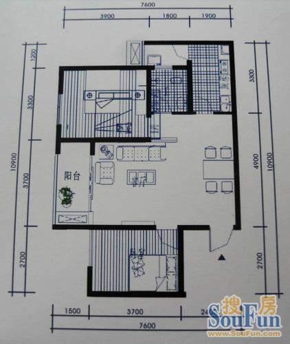 梓州国际公寓J