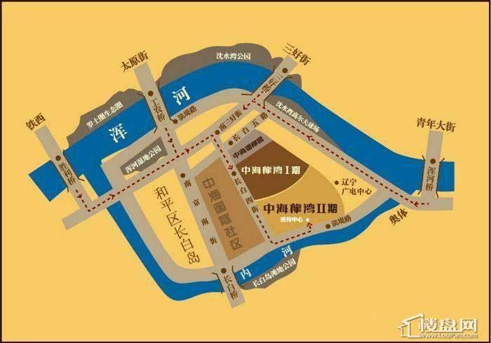 中海龙湾二期配套图