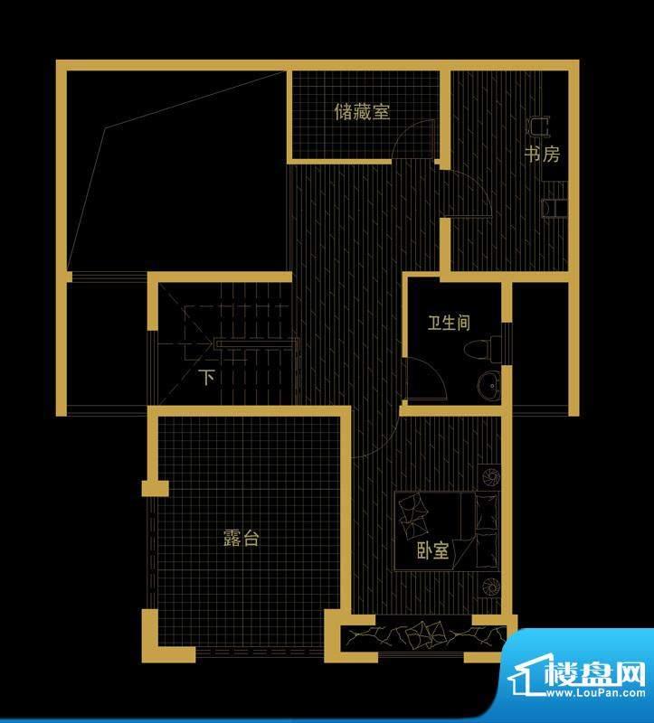 泰信81公馆1-2楼上 面积:0.00平米