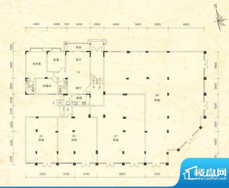 南桂园江临世家A-M栋面积:0.00m平米