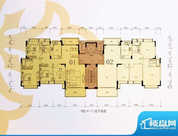 大涌雅居乐豪园户型面积:200.00m平米