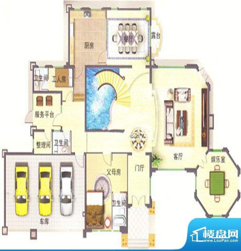 菊城建华花园B2别墅面积:0.00m平米