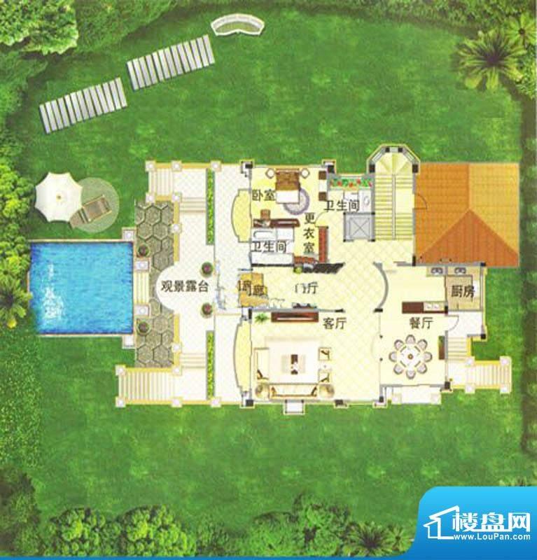 菊城建华花园B6别墅面积:0.00m平米
