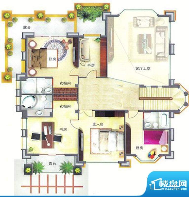 菊城建华花园C1别墅面积:0.00m平米