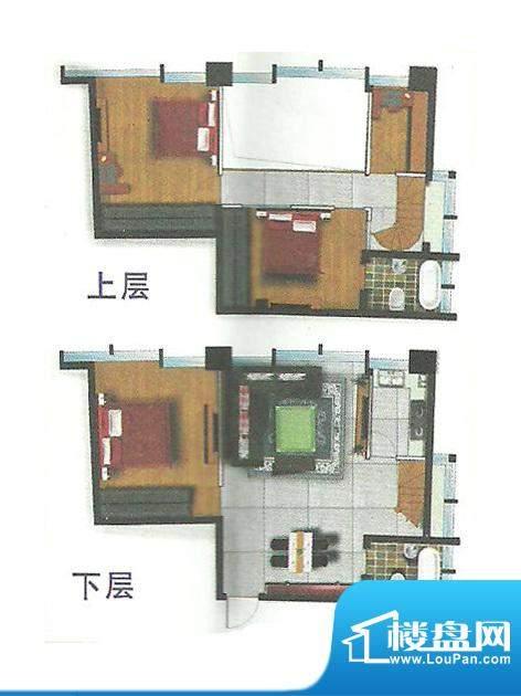 卓悦广场最创意实用面积:79.93m平米