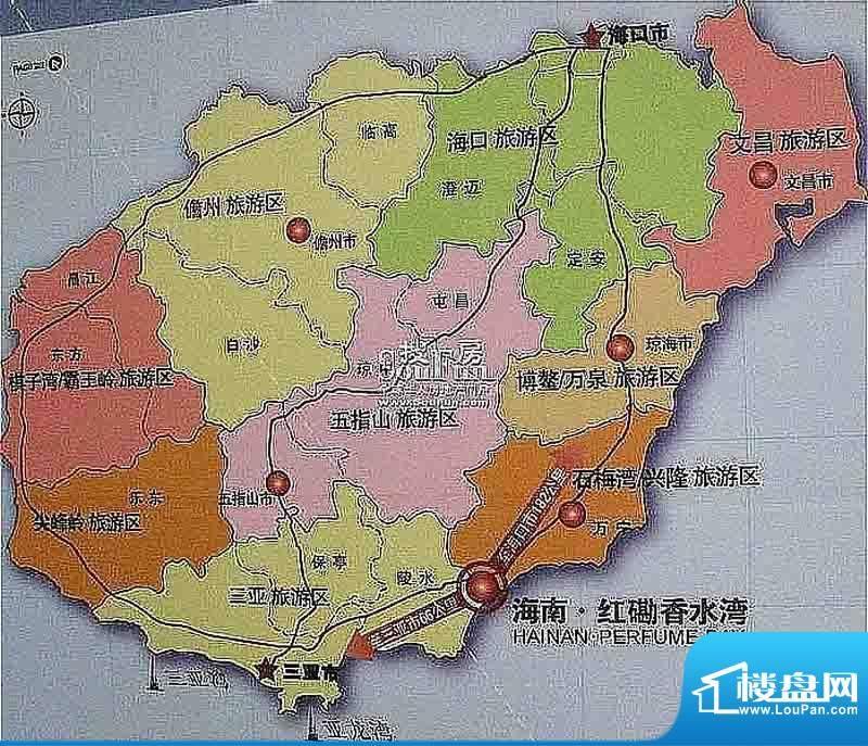 红磡香水湾交通图