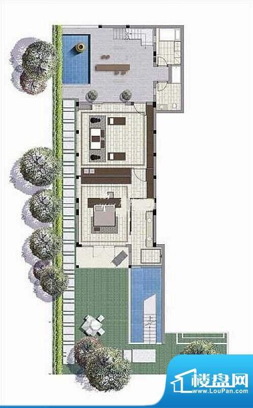 亚龙湾西山渡庭院平面积:0.00平米