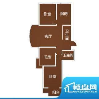 星城国际一-三期标准面积:118.00m平米