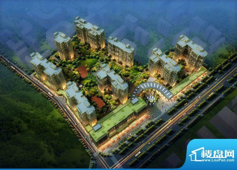 惠港新城实景图