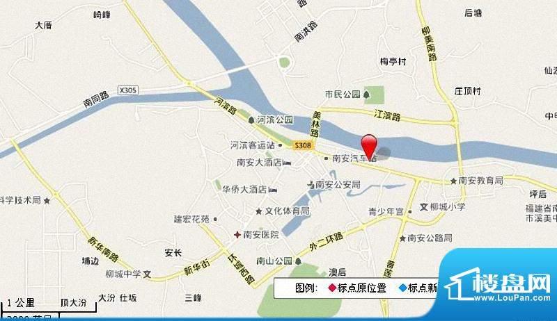 东方伟业城市广场交通图