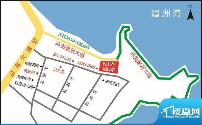 阳光海岸交通图
