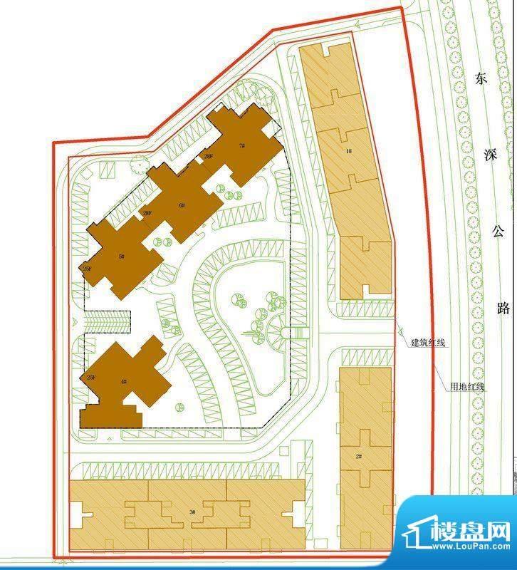 凤岗东江花园四期项目交通图