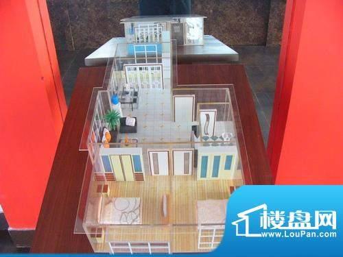 天成花苑E户型图 2室面积:87.29平米