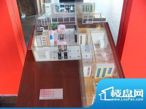 天成花苑G户型图 2室面积:90.31平米