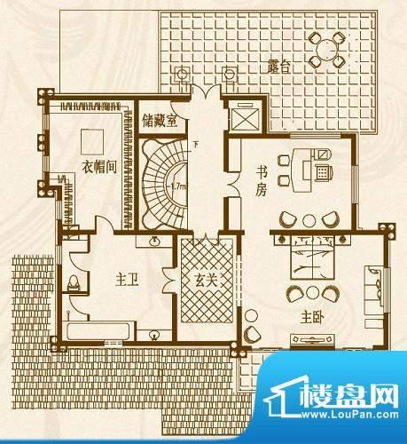 马山寨海景豪庭别墅面积:167.31平米