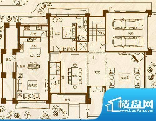 马山寨海景豪庭别墅面积:280.00平米