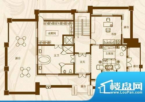 马山寨海景豪庭别墅面积:159.00平米