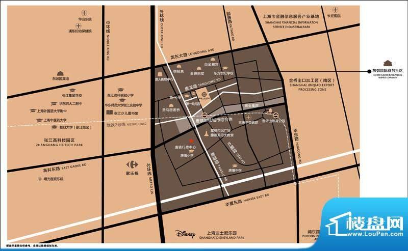 绿城上海玉兰花园实景图