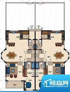 桃源一品E栋首层 1室面积:245.69平米