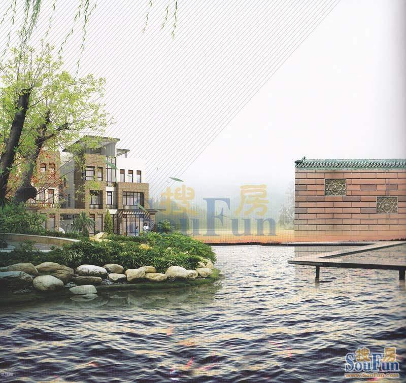 东湖映月小区效果图