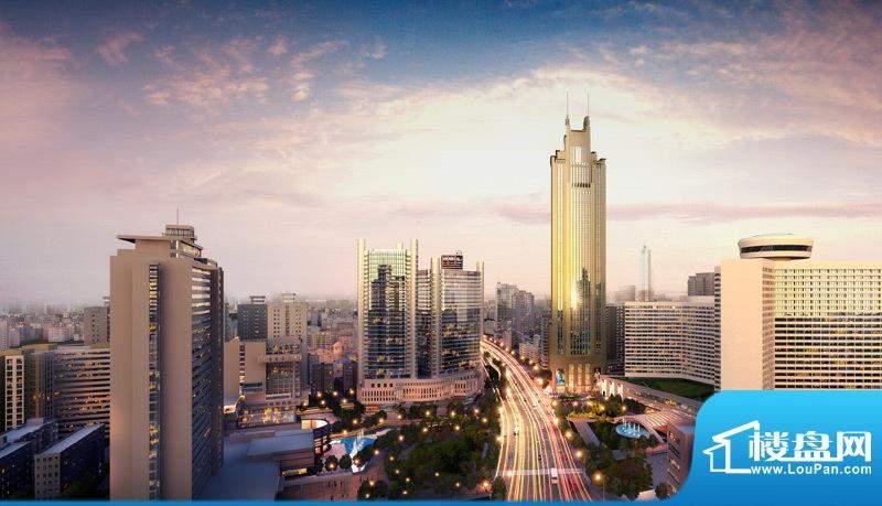 正佳东方国际公寓外立面效果图