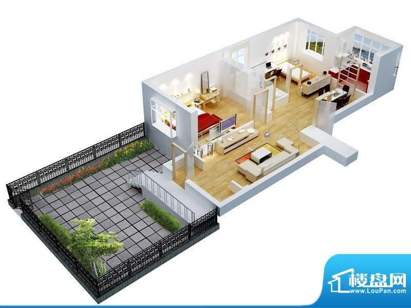 家和美景天城63号楼面积:88.30平米