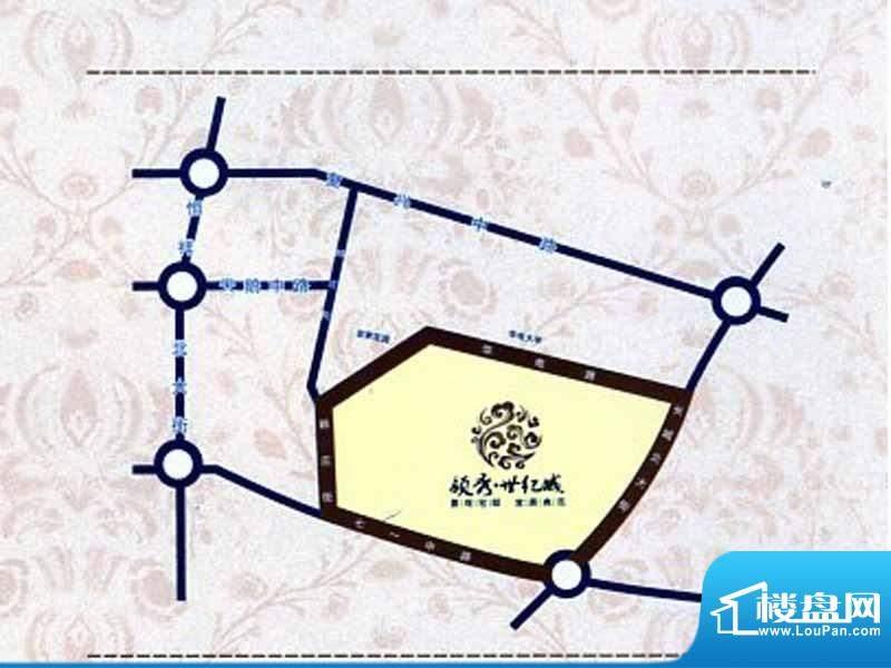 领秀世纪城交通图