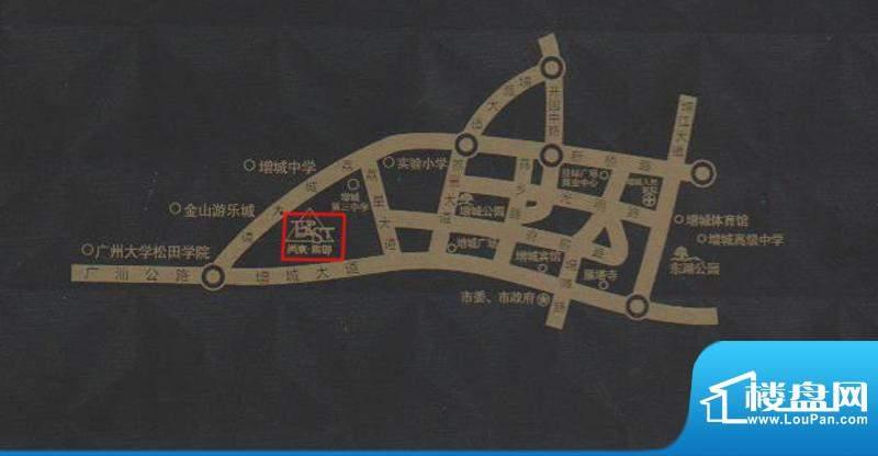 尚东紫御交通图