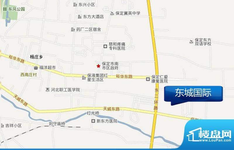 东城国际悦澜湾交通图