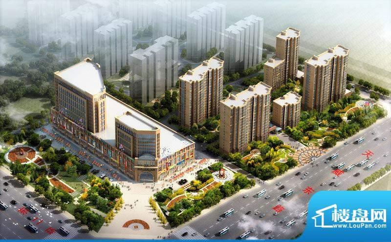 东城国际悦澜湾效果图