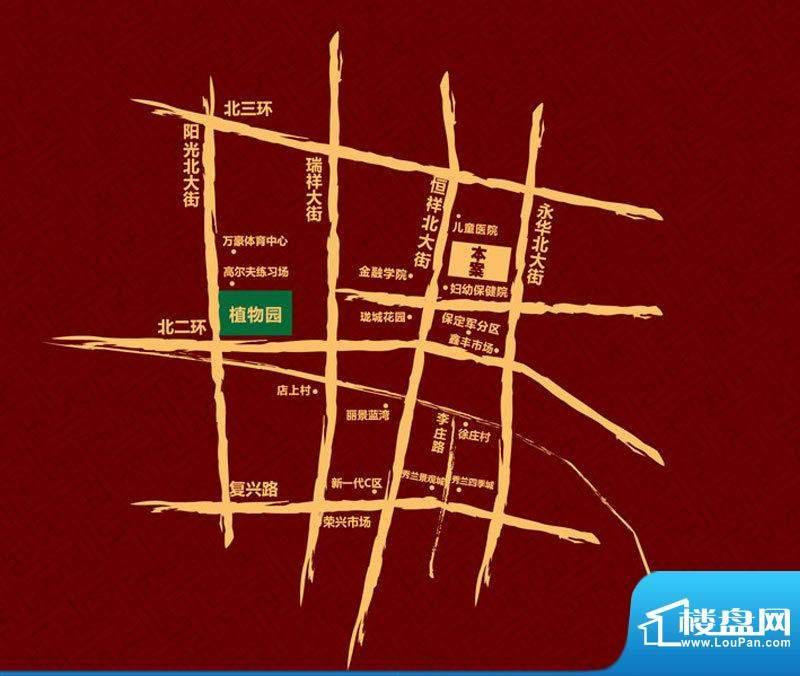荣联天下城交通图