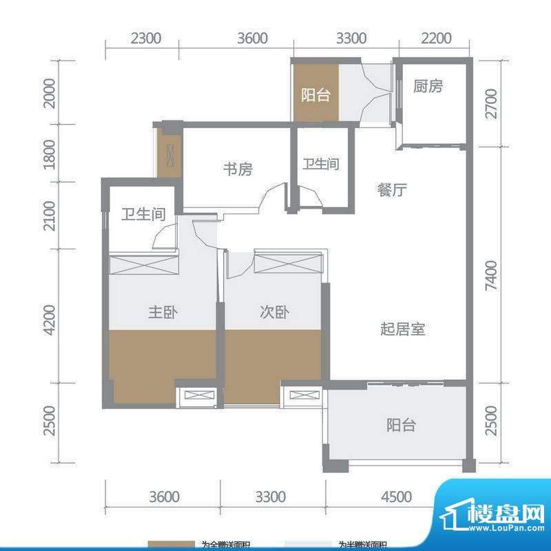 博雅海润广场 5栋4、面积:131.71平米