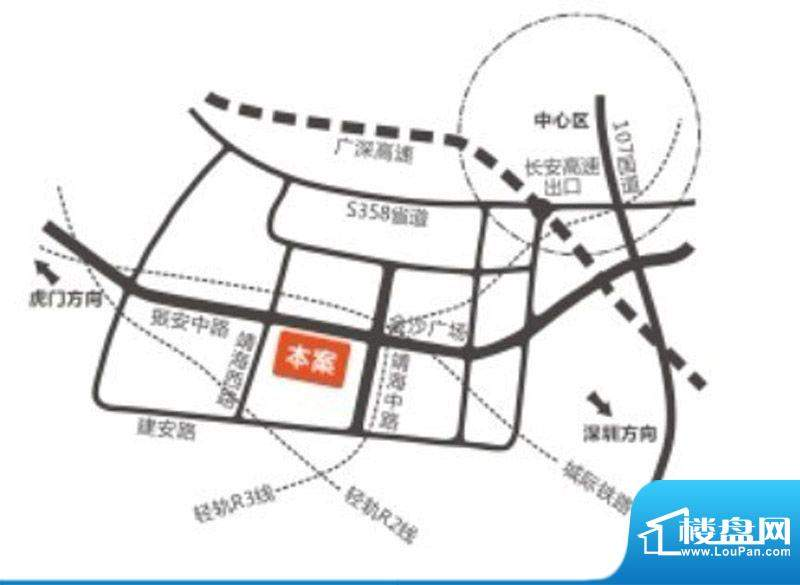 君源铂尔曼公馆交通图