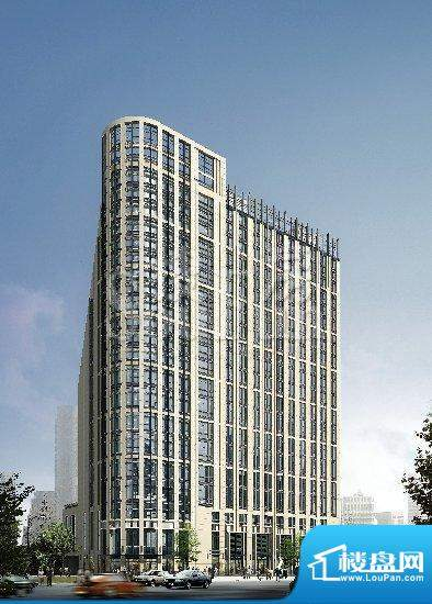 邦泰国际公寓全景效果图