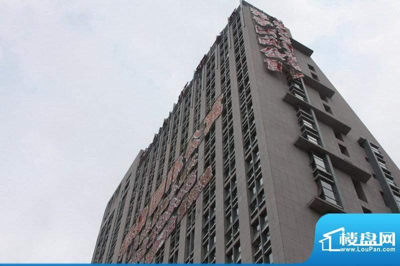 邦泰国际公寓全景外景图(2010.5)